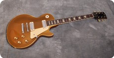 Gibson-Les Paul Deluxe Goldtop-1969-Gold Top