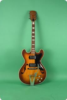 Kay Model 650 Guitar 1966 Sunburst