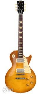 Gibson Custom 60th Anniversary Les Paul Standard Golden Poppy Burst Vos