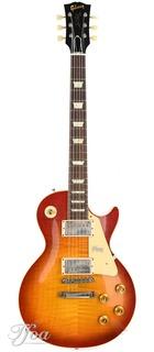 Gibson Custom 58 Les Paul Standard Washed Cherry Sunburst Vos