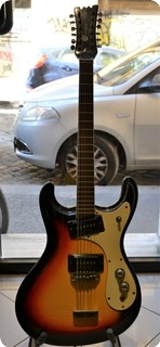 Mosrite Mark Xii 1966 Sunburst