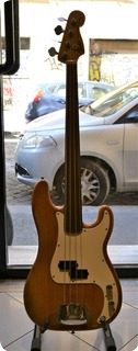 Fender Precision Fretless 1976 Natural