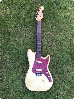 Fender Duo Sonic Owned By John Lennon The Beatles 1963 Blonde