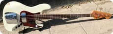 Fender Jazz Bass Refin 1964 OlympicWhite