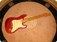 Fender-Stratocaster MIJ-1994-Candy Apple Red