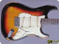 Fender Stratocaster 1963 3 tone Sunburst