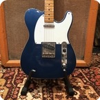 Tokai Vintage 1980s Tokai Breezysound Final Pro Spec Blue Telecaster Custom