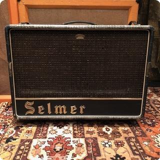 Selmer Vintage 1964 Selmer Truvoice Thunderbird Twin 30 Croc Skin Amplifier