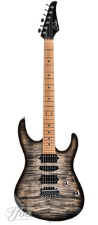 Suhr Modern Plus Trans Charcoal Burst Hsh Roasted Maple