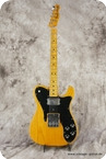 Fender Telecaster Custom 1973 Natural