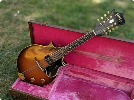 Gibson Em 200 Electric Mandolin 1956 Sunburst