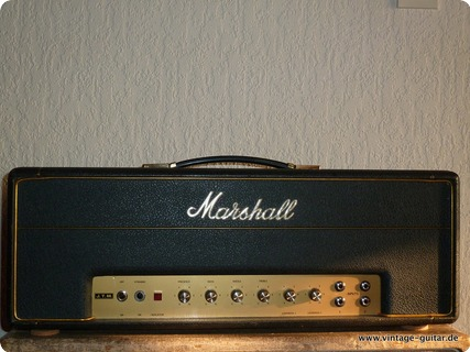Marshall Jtm 50 Black Flag 1967 Black Tolex