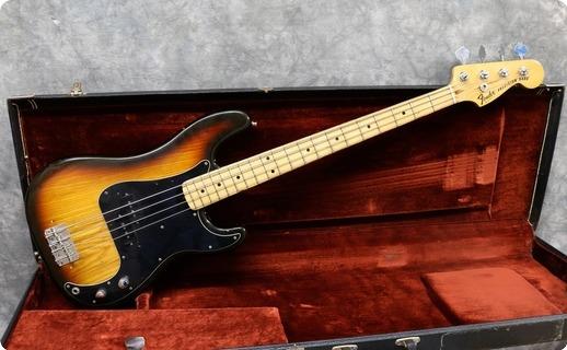 Fender Precision 1978 Sunburst