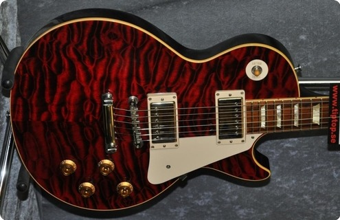 Gibson Les Paul  59 Cs Ltd. 1 Of 5.quilt! 2003 Tiger Red