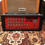 Simms Watts Vintage 1970s Simms Watts PA200 Super KT88 Valve Guitar Amplifier