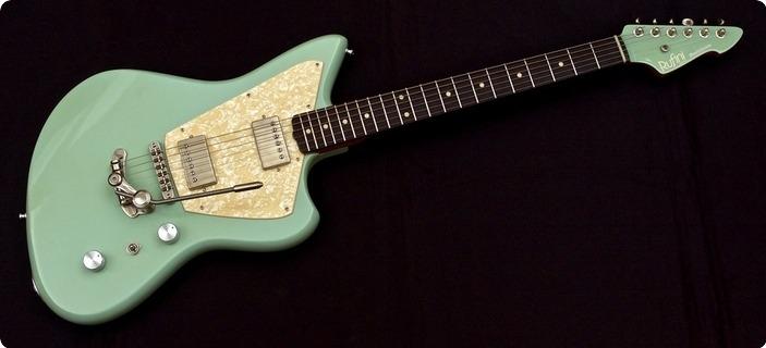 Rufini Guitars Montefalco 2019 Sonic Blue Aged