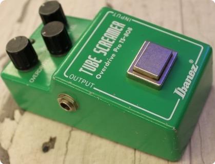 Ibanez Tube Screamer Ts 808 1981