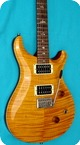 Paul Reed Smith Prs Custom 24 Dragon Pickups 1989 Honey Flam Top