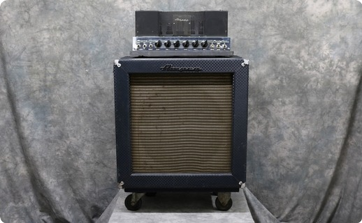 Ampeg B15 1966 Blue Check Tolex