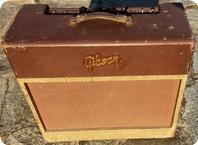 Gibson-Les Paul Model GA-40-1955-Brown