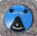 Dallas Arbiter Fuzz Face Dave Fox 1980 Blue