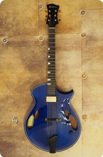 Eastman Er4 Custom 2019 Transparent Blue