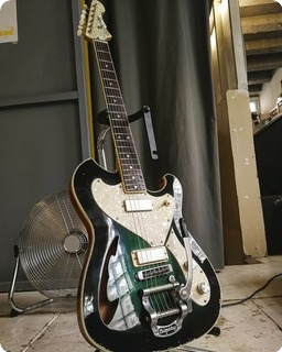 T.p.customs Guitars Tonemeister Type Iii 2019 Aged Green Burst
