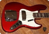Fender-Jazz Bass   (FEB0338) -1967-Candy Apple Red