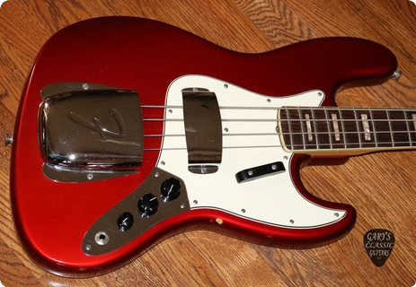 Fender Jazz Bass   (feb0338)  1967 Candy Apple Red