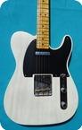 Fender-Telecaster 52 LTD Edition Pine Wood -2011-White