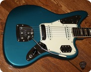 Fender-Jaguar  (FEE1029) -1966-Lake Placid Blue
