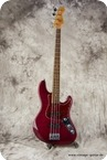 Fender Jazz Bass Elite 1998 Transcluent Red