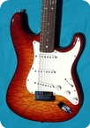 Fender-CUSTOM DLX N.O.S. Custom Shop -2012-Quilted Burst