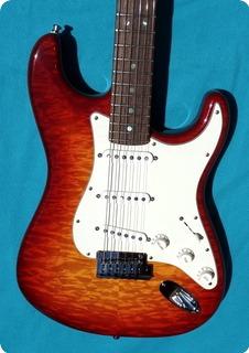 Fender Custom Dlx N.o.s. Custom Shop  2012 Quilted Burst