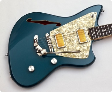 Rufini Guitars Montefalco Semi Hollow 2019 Magpie Metallic