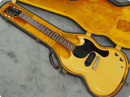 Gibson Sg Jr 1961 Tv Yellow