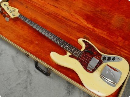 Fender Jazz Bass 1964 Olympic White