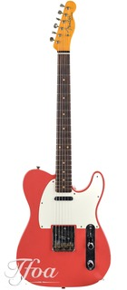 Fender Custom Fender Namm 59 Telecaster Journeyman Fiesta Red