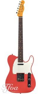Fender Custom Fender Namm 59 Telecaster Journeyman Fiesta Red