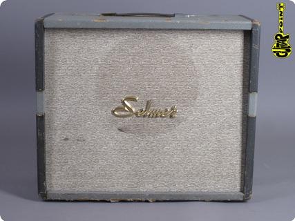 Selmer Truvoice Stadium 15 1961 Grey Creme