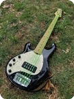 Ernie Ball Musician Stingray 5 String Left Handed 2000 Black Holoflake