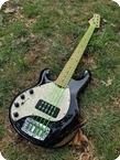 Ernie Ball Musician Stingray 5 String Left Handed 2000 Black Holoflake