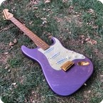 Fender Ltd Edition Stratocaster 1992 Purple Glitter