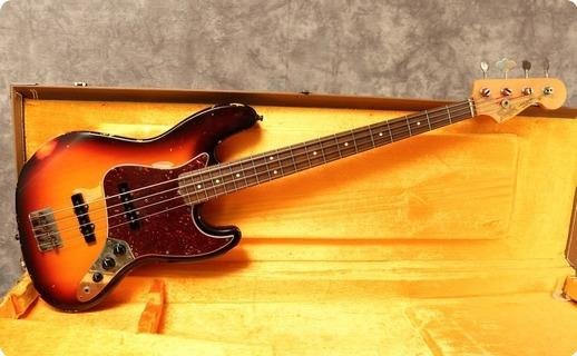 Fender Custom Shop '60s Jazz Relic  1996 Sunburst