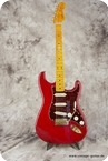 Fender Stratocaster 50s Reissue 2013 Crimson Red Transparent