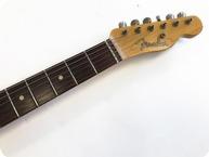 Fender- Fender Telecaster Thinline – Custom Shop Heavy Relic – TV Jones Mod 2007 Sunburst-2007-Sunburst