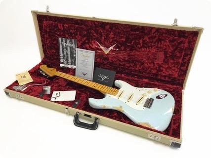 Fender Stratocaster Custom Shop 56 Heavy Relic – Ltd Edition – Pre Owned 2015 Sonic Blue