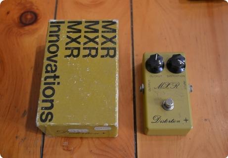 Mxr Effects Distorsion 1970