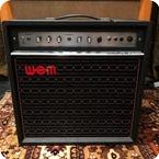 WEM Vintage 1970s WEM Dominator MKIII 1x12 Valve Combo Amplifier