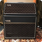 Vox Vintage 1965 Vox AC30 Super Twin Trapezoid 2x12 Amplifier Stack